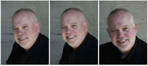 three faces of Steve Larsen