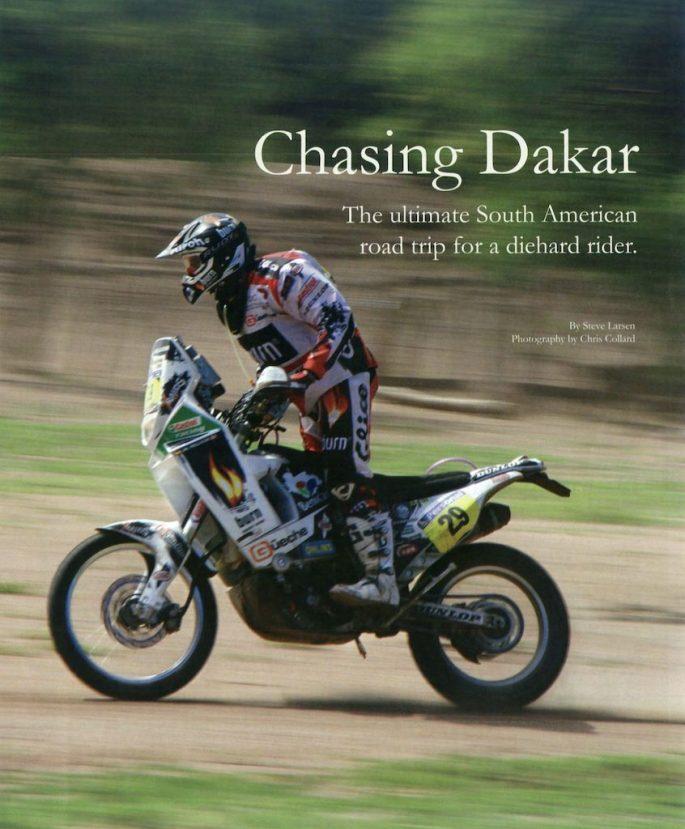 Chasing Dakar cover