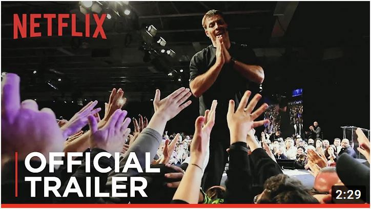 trailer for Tony Robbins film
